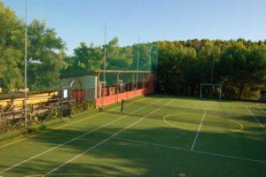 veduta del campo di calcetto e tennis villaggio elisena Vieste